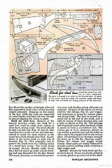 crossbow plans build a metal crossbow using a leaf spring plans weaponry pinterest archerie plan bois