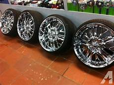 22 quot inch 5 lug incubus paranormal chrome rims with new
