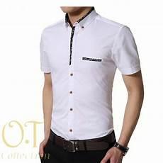baju kemeja pria lengan pendek keren terbaru ryn fashion