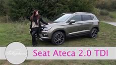 2016 Seat Ateca 2 0 Tdi 4drive 150 Ps Test