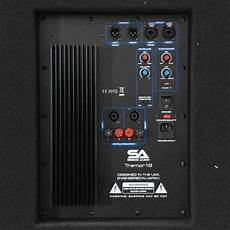 seismic audio 18 quot pa powered subwoofer speaker active ebay