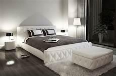 lit en cuir italien de luxe farniente 180x200 blanc