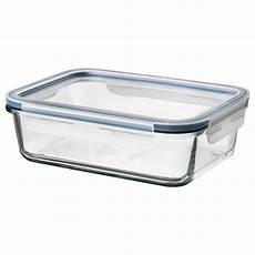 ikea 365 food container with lid rectangular glass