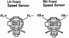 repair anti lock braking 1992 toyota paseo engine control repair guides anti lock brake system front speed sensor autozone com