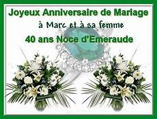 40 Ans Mariage 50 S Pour Toujours Bonnes Noces D
