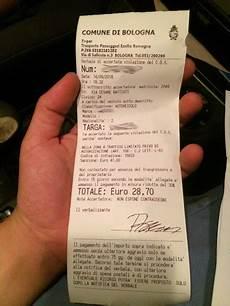 Strafzettel F 252 Rs Falschparken In Bologna Bekommen W 252 Rde
