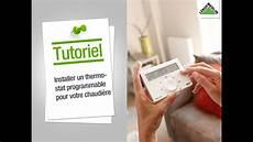 Thermostat Sans Fil Saunier Duval Comment Installer Un Thermostat Programmable Pour