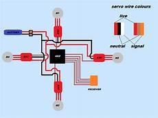 quadcopter wiring diagram