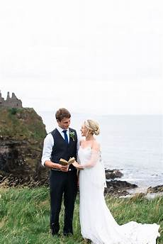 fine art dunluce castle elopement in ireland in and