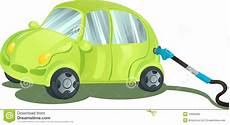 Auto Mit Gas - fueling a car with gasoline stock vector illustration of