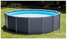 habillage piscine hors sol intex 70446 piscine hors sol intex habillage pvc gris piscine center net