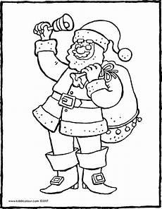 weihnachtsmann mit glocke kiddimalseite