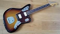 kurt cobain jaguar guitar sold fender jaguar kurt cobain nos sunburst classic