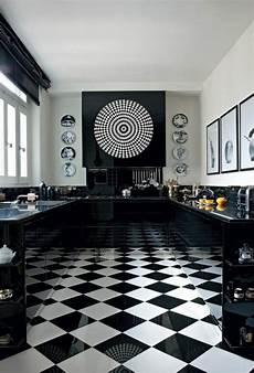 Le Carrelage Damier Noir Et Blanc En 78 Photos Deco
