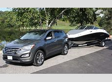 Towing capacity hyundai santa fe   Towing