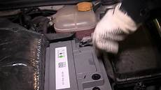 astra h how to change the battery on an opel vauxhall