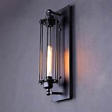 personalized vintage wall light novelty test tube design iron black sconce e27 industrial wall