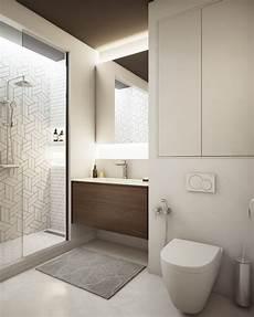 Badezimmer Weiß Grau - weiss grau beige badezimmer klein einbauschrank schlicht