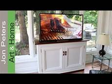 how to build a tv lift cabinet