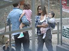 gosling mendes gosling mendes park it with daughters tmz