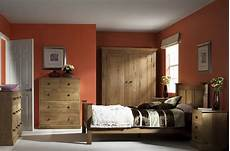 Bedroom Colour Ideas With Oak Furniture by Country Oak Bedroom Furniture Corndell Furniture