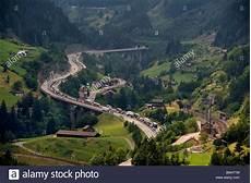 St Gotthard Tunnel - st gotthard tunnel traffic jams continue in