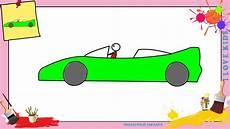 voiture en dessin dessin voiture de course comment dessiner une voiture de