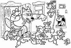 Malvorlagen Und Der Wolf Der Wolf Und Die 7 Gei Lein 1957 Brothersmediaget