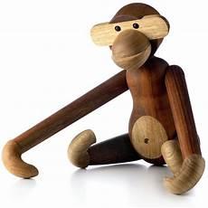 Bojesen Affe - holzfigur beweglicher holzaffe 46 cm bojesen affe