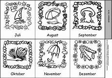 Ausmalbilder Jahreszeiten Monate Jahreszeiten Bilder Zum Ausdrucken Kostenlos