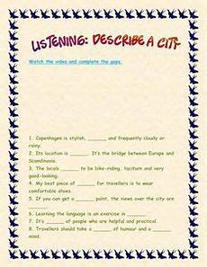describing places worksheets printables 15977 17 best efl city images in 2019 activities learn teaching