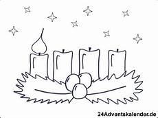 Malvorlagen Advent 1 Advent Ausmalbild