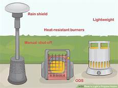 lighting propane wall heater how to light a propane heater 15 steps with pictures wikihow