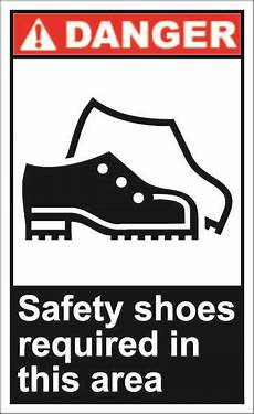 safety shoes required in this area 1 64 signs shop safety safety signs atari logo