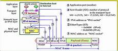 how can the host addresses mac address and ip address