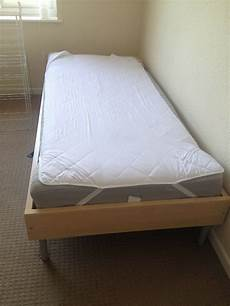 Single Bed 90x200 With Frame And Madrass From Ikea In