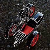 Modern Vespa  Streamline Art Deco Aerodynamic Scoots