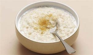 Image result for image bowl of porridge with brown sugar on top