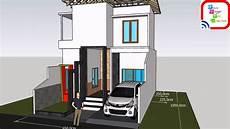 Desain Rumah Luas 6 5 M X 10 M Dengan 2 Kamar Tak