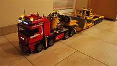 re lego technic 8258 schwertransport rc umbau lego