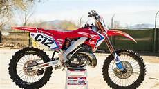 racer x 2004 honda cr250 build