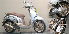 Scoopy Modif Retro by Modif Motor Modifikasi Retro Honda Scoopy