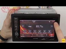 мультимедийный центр Alpine Ine W990bt с поддержкой Iphone