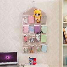creative 16 pockets hanging wall mounted closet storage