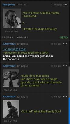 all 4chan boards gigachads of tv watch anime 4chan