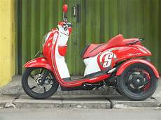Scoopy 2016 Modif by Oracle Modification Concept Honda Scoopy Fi Modif Roda3