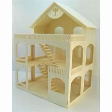 maison de poupéé en bois pas cher maison de poup 233 e rosine en bois 224 assembler 224 peindre et