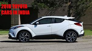 Upcoming Toyota Cars In India  2018 New