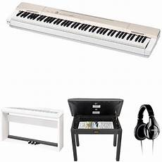 Casio Px 160 Privia 88 Key Digital Piano With Stand Bench B H