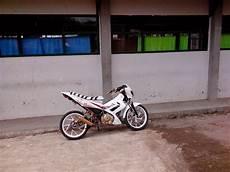 Modifikasi Motor Satria Fu Terbaru by Gambar Modifikasi Motor Suzuki Satria Fu 150 Terbaru